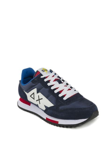 Sneaker niki solid navy SUN 68 | Sneakers | Z31118NIKI SOLID-NAVY