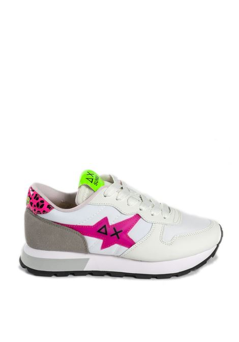 Sneaker ally star bianco/fuxia SUN 68 | Sneakers | Z31209ALLY STAR-BIA-FUXIA