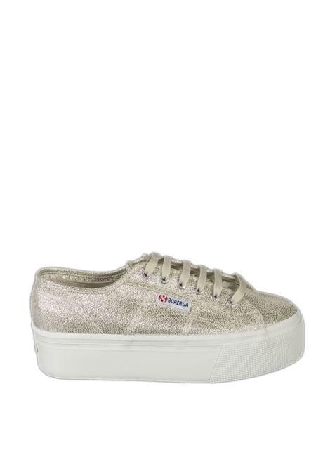 Sneaker lame platino SUPERGA | Sneakers | 2790LAME-394