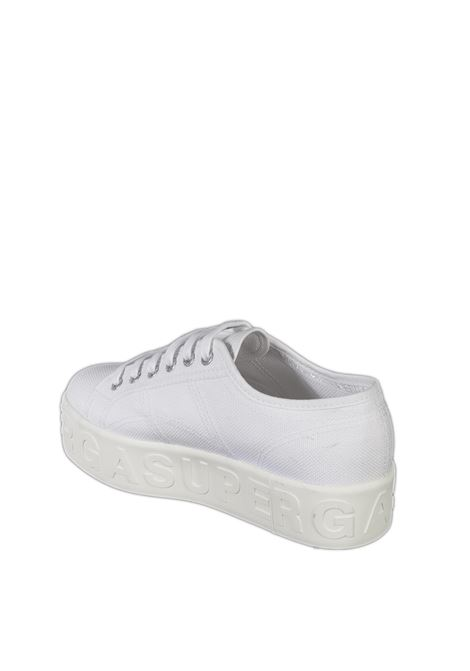 Sneaker lettering bianco SUPERGA | Sneakers | 2790LETTERING-901