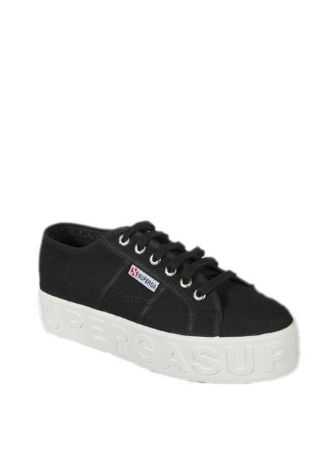 Sneaker lettering nero SUPERGA | Sneakers | 2790LETTERING-999
