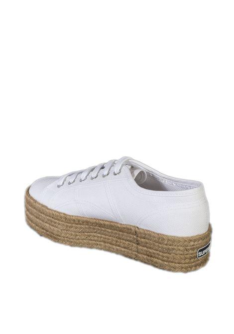 Sneaker rope bianco SUPERGA | Sneakers | 2790ROPE-901