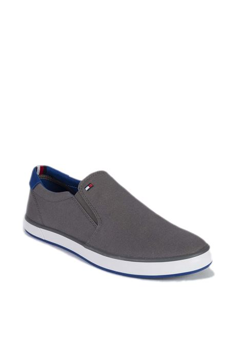 Sneaker iconic slipon grigio TOMMY HILFIGER | Sneakers | 0597ICONIC SLIPON-039