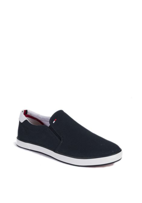 Sneaker iconic slipon blu TOMMY HILFIGER | Sneakers | 0597ICONIC SLIPON-403