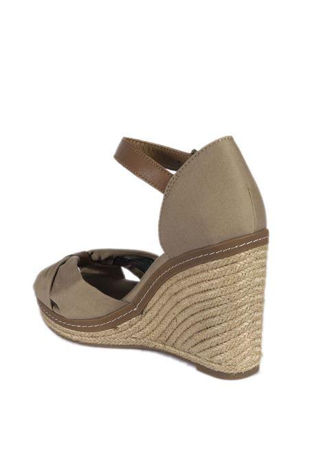 Sandalo spuntato elena beige TOMMY HILFIGER | Sandali | 0905ELENA-068