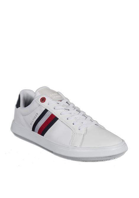 Sneaker essential flag bianco TOMMY HILFIGER | Sneakers | 3424ESSENTIAL-YBR