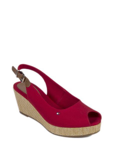 Sandalo elba rosso TOMMY HILFIGER | Sandali | 4788ELBA-XLG