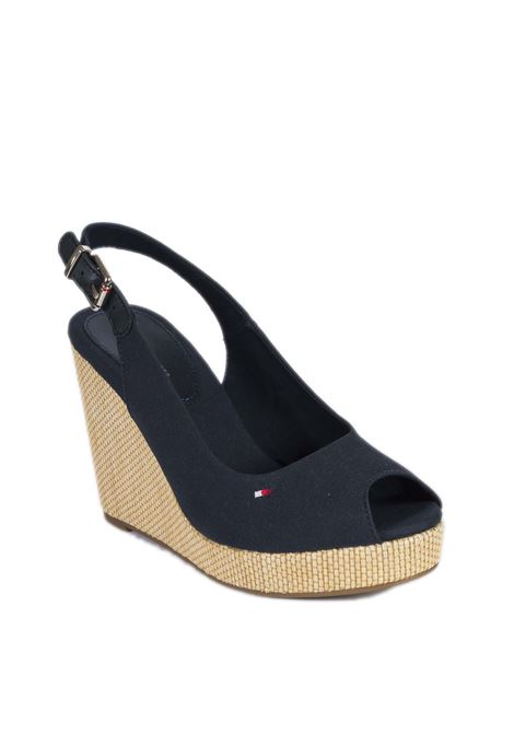 Sandalo elena blu TOMMY HILFIGER | Sandali | 4789ELENA-DW5