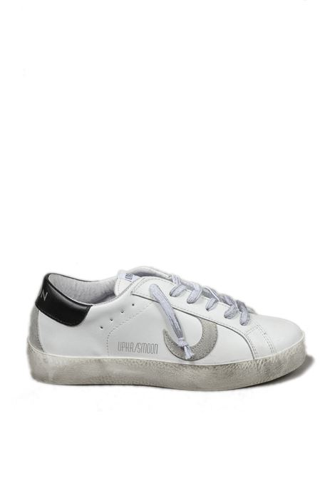 Sneaker super moon bianco/nero UMA PARKER NEW YORK | Sneakers | SUPER MOONPELLE-BIANCO/NERO