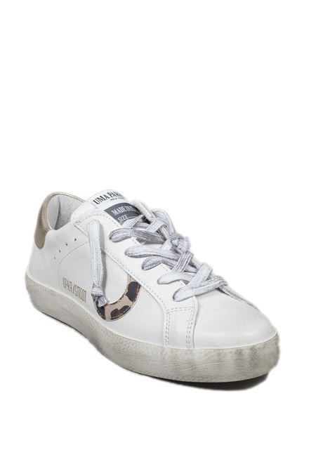 Sneaker super moon bianco/oro UMA PARKER NEW YORK | Sneakers | SUPER MOONPELLE-BIANCO/ORO