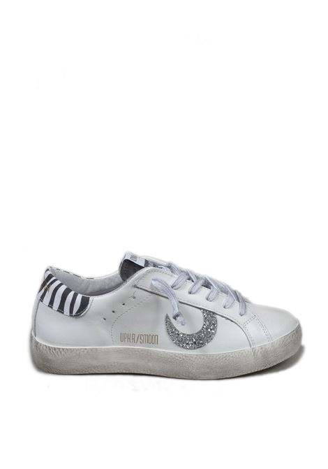 Sneaker super moon bianco/zebra UMA PARKER NEW YORK | Sneakers | SUPER MOONPELLE-BIANCO/ZEBRA