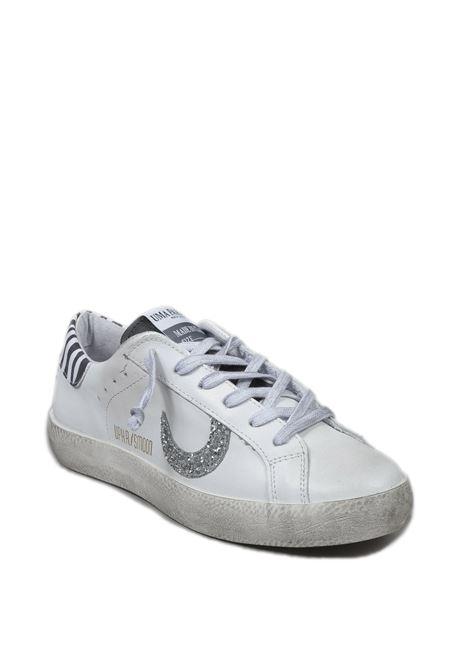 Sneaker super moon bianco/zebra UMA PARKER NEW YORK | Sneakers | SUPER MOONPELLE-BIANCO/ZEBRA