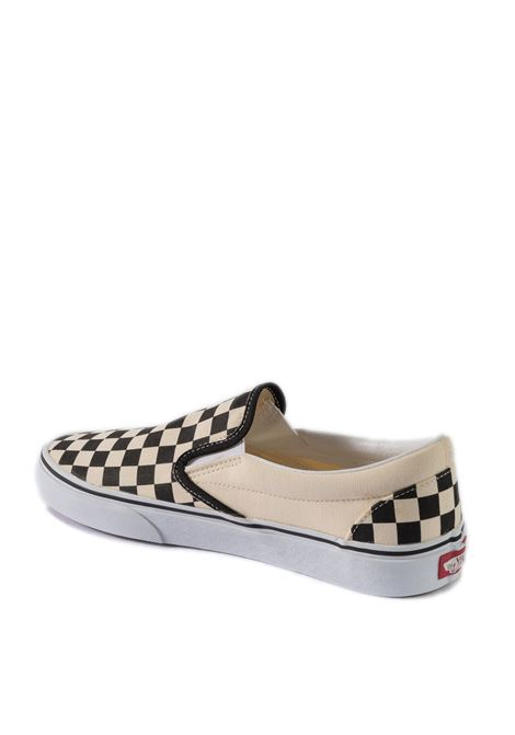Sneaker slipon bianco/nero VANS | Sneakers | VN000EYEBWW1CLASSIC SLIP-ON-BLK/WHT CHCKER