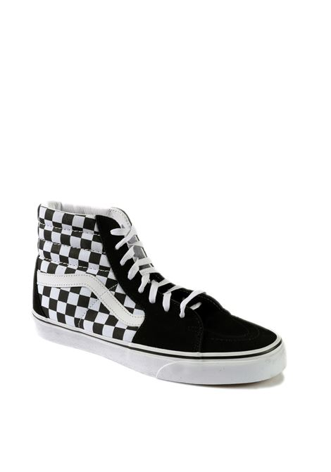 VANS | Sneakers | VN0A32QGHRK1SK8-HI CHECK-BLACK/WHITE