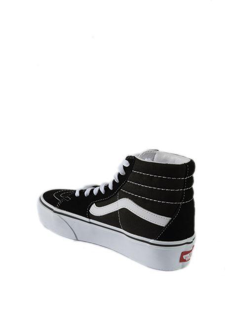 Sneaker sk8 platform nero/bianco VANS | Sneakers | VN0A3TKN6BT1SK8-HI PLATFORM-BLACH/WHITE