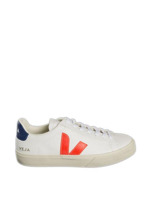 Sneaker campo chromefree bianco/arancione VEJA | Sneakers | CAMPO-UCHROMEFREE-052195