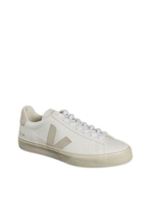 Sneaker campo chromefree bianco/beige VEJA | Sneakers | CAMPO-UCHROMEFREE-052429