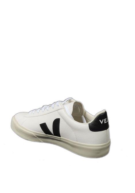 Sneaker campo chromefree bianco/nero VEJA | Sneakers | CAMPOCHROMEFREE-051537