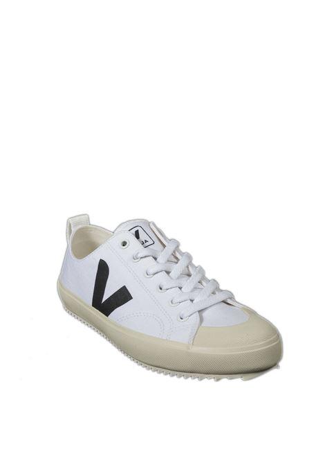Sneaker nova canvas bianco/nero VEJA | Sneakers | NOVACANVAS-011537