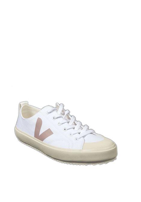 Sneaker nova canvas bianco VEJA | Sneakers | NOVACANVAS-012521
