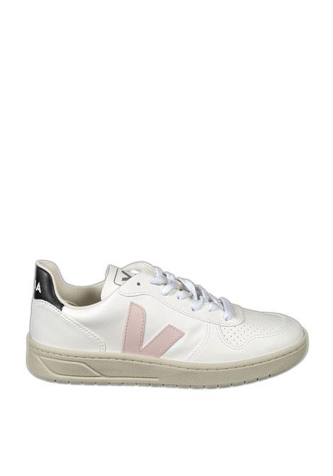 Sneaker v10 bianco/grigio/nero VEJA | Sneakers | V-10DCWL-072558
