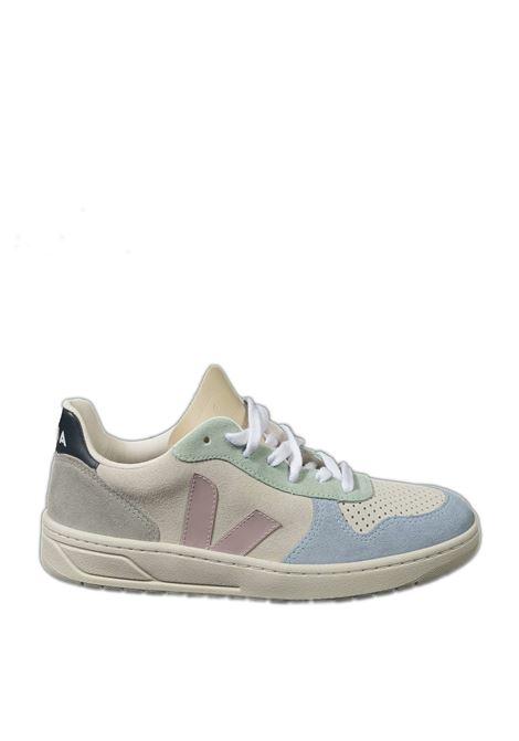 Sneaker v10 suede multicolor VEJA | Sneakers | V-10DSUEDE-032495