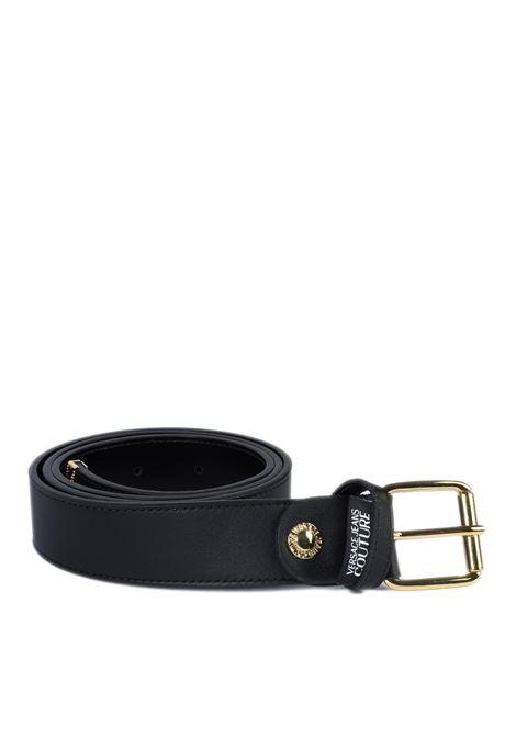 Cintura plain nero VERSACE JEANS COUTURE | Cinture | BF1171553-899