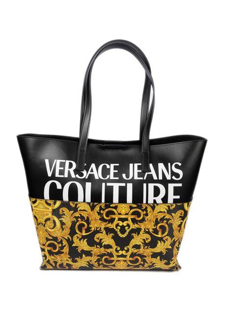 Shopping barocco nero VERSACE JEANS COUTURE | Borse a spalla | BG171727-M27