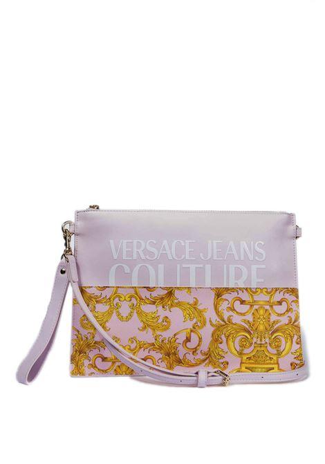 Pochette barocco rosa multicolor VERSACE JEANS COUTURE | Borse mini | BGY71727-O33