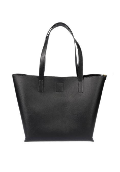 Shopping pochette saffiano nero VERSACE JEANS COUTURE | Borse a spalla | BL871879-899