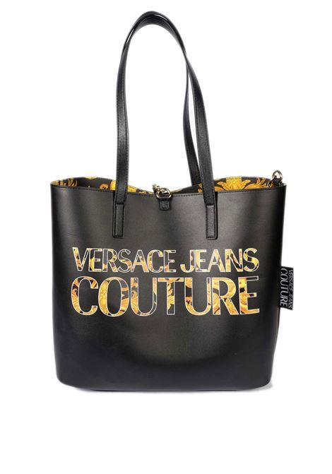 Shopping m reversibile nero VERSACE JEANS COUTURE | Borse a spalla | BZ171588-M27