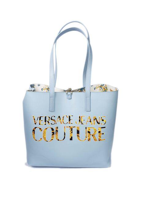 Shopping m reversibile bianco multi VERSACE JEANS COUTURE | Borse a spalla | BZ171588-O33