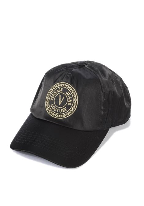 Cappello medaglia nero/oro VERSACE JEANS COUTURE | Cappelli | K1680159-899