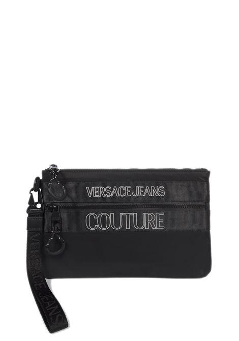 Pochette zip nero VERSACE JEANS COUTURE | Borse a mano | PA271895-899