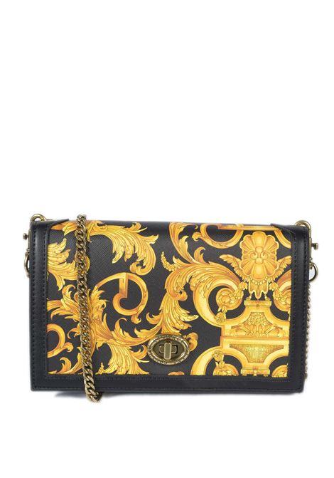 Pochette barocco nero multi VERSACE JEANS COUTURE | Borse a mano | PM671880-M27