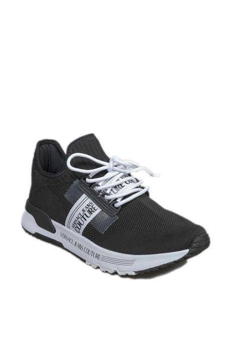 Sneaker banda nero VERSACE JEANS COUTURE | Sneakers | SA771930-899