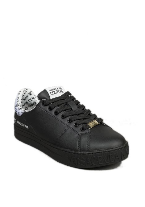 Sneaker tab logo bianco VERSACE JEANS COUTURE | Sneakers | SK371962-899