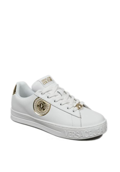 Sneaker medaglia bianco VERSACE JEANS COUTURE | Sneakers | SK671927-003