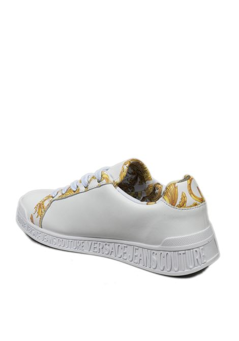 Sneaker barocco bianco VERSACE JEANS COUTURE | Sneakers | SP171973-MCI