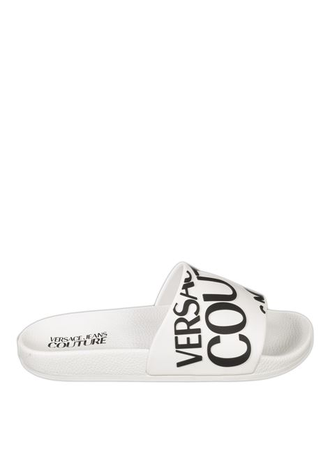 Sandalo fascia bianco VERSACE JEANS COUTURE | Sandali flats | SQ171352-003