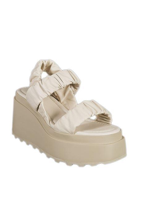 Sandalo velvet bianco VIC MATIÈ | Sandali | 5706VELVET-112