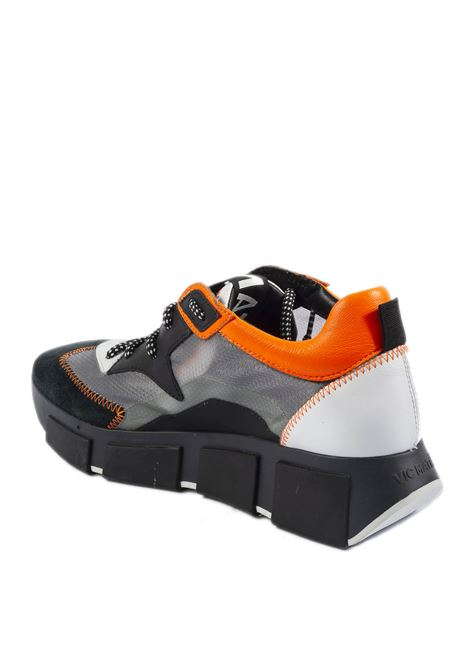 Sneaker camoscio/ripstop nero/arancione VIC MATIÈ | Sneakers | 8332CAM/RIPSTOP-101/250