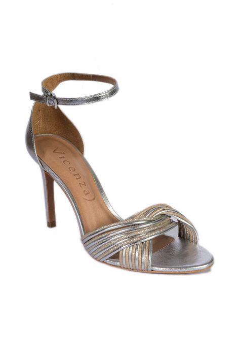 Sandalo paris argento VICENZA | Sandali | 619109Z1PARIS-SILVER