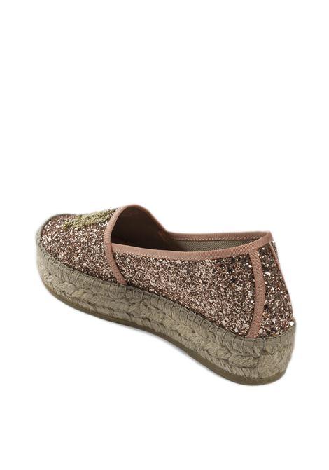 Espadrillas glitter salmone VIDORRETA | Espadrilles | 06238GLIT-SALMON