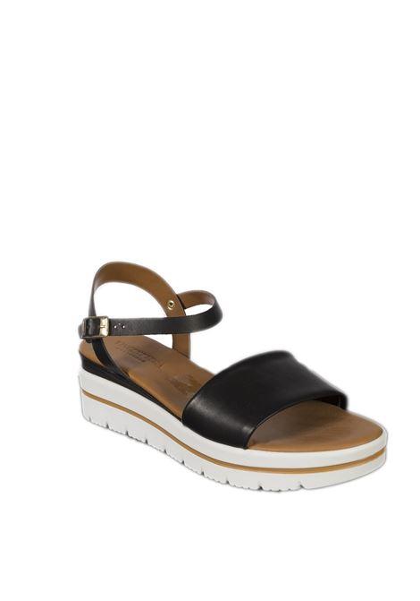 Sandalo zeppa fascia nero VINCENT VEGA | Sandali | FZ702XLVIT-NERO