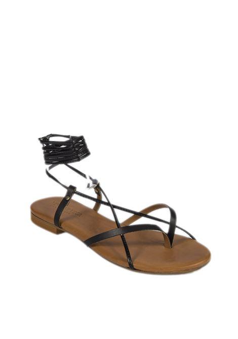 Sandalo flat schiava nero VINCENT VEGA | Sandali flats | P120SKVIT-NERO