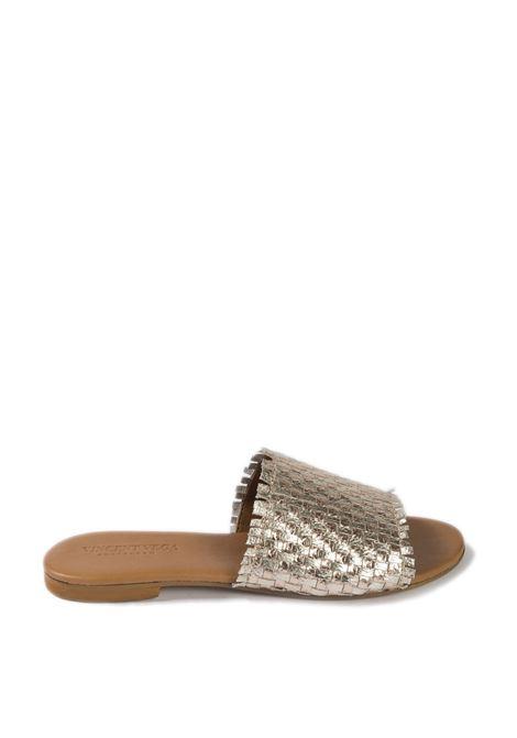 Sandalo flat metal rame VINCENT VEGA | Sandali flats | P127ILAM-RAME