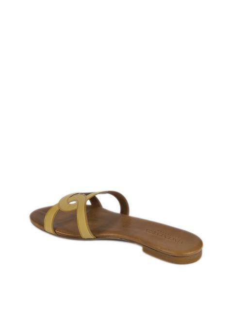 Sandalo flat laser giallo VINCENT VEGA | Sandali flats | P140HDVIT-GIALLO