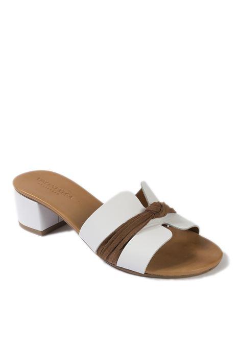 Sandalo nodo t50 bianco VINCENT VEGA | Sandali | P406NVIT-BIANCO