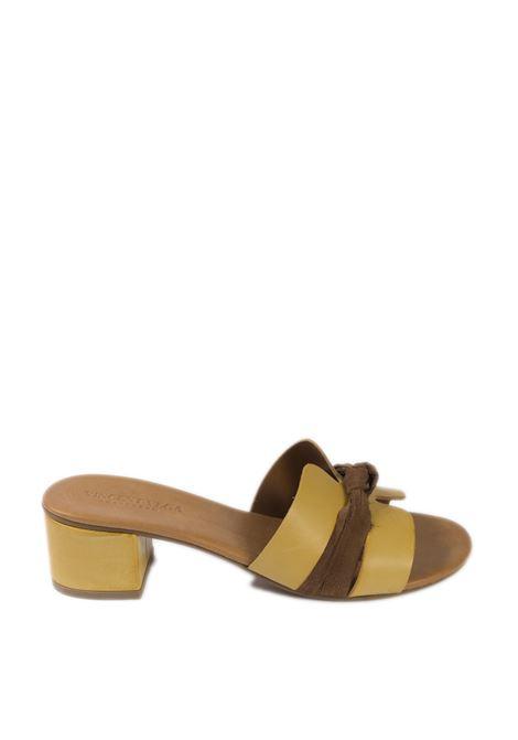 Sandalo nodo t50 giallo VINCENT VEGA | Sandali | P406NVIT-GIALLO